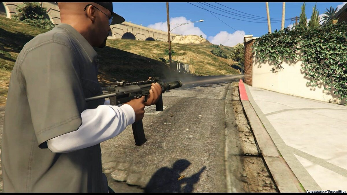 Weapon mod H & K MP7 for GTA 5