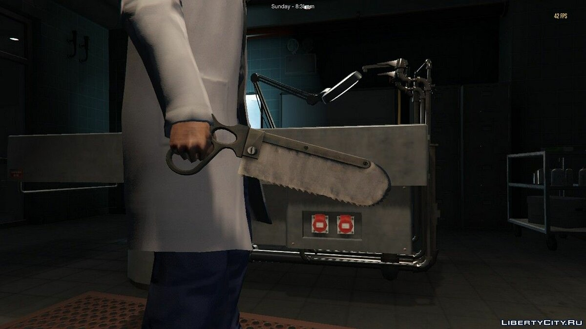 Weapon mod Team Fortress 2 Surgical Saw for GTA 5
