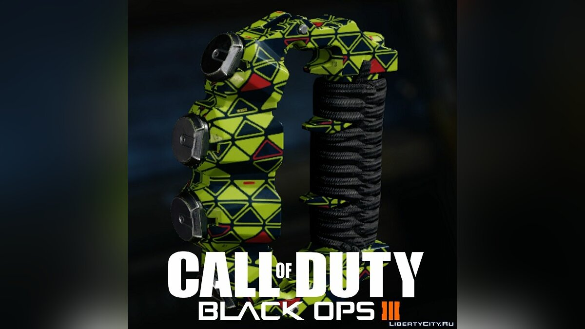 Weapon mod Call of Duty Black Ops III - Brass Knuckles Interger Camouflage 1.0 - The Fist of the Future for GTA 5