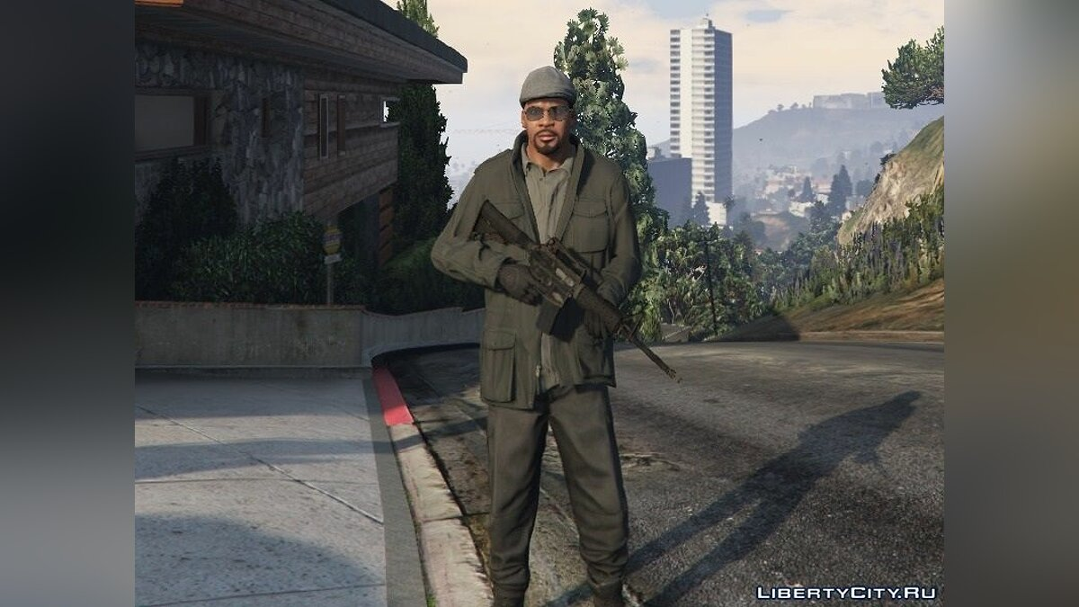 Weapon mod M4A1 for GTA 5