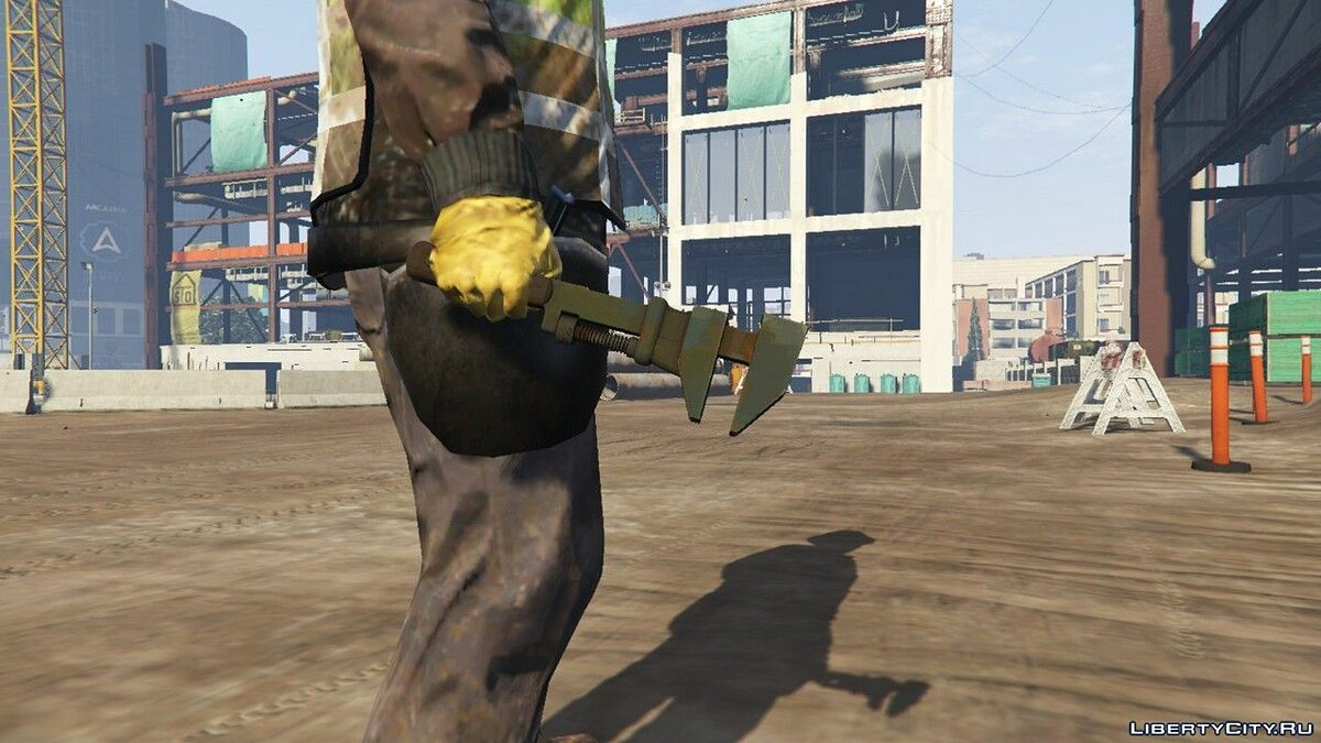 Weapon mod Old wrench for GTA 5