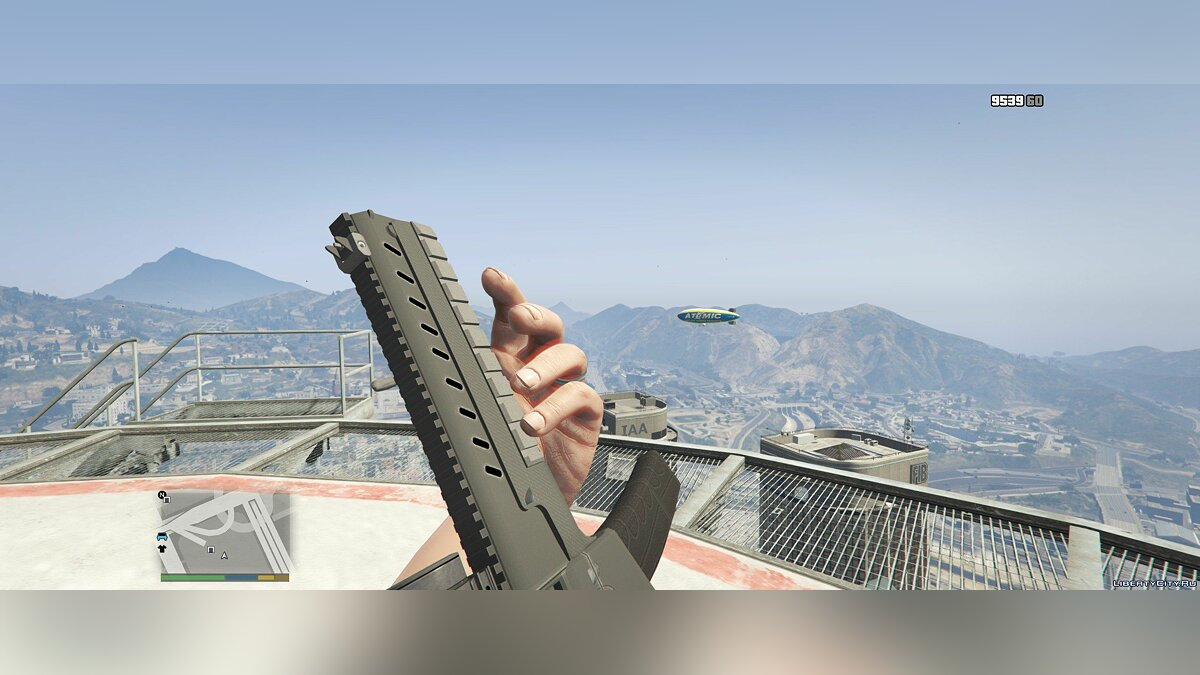 Weapon mod Darker PDW for GTA 5