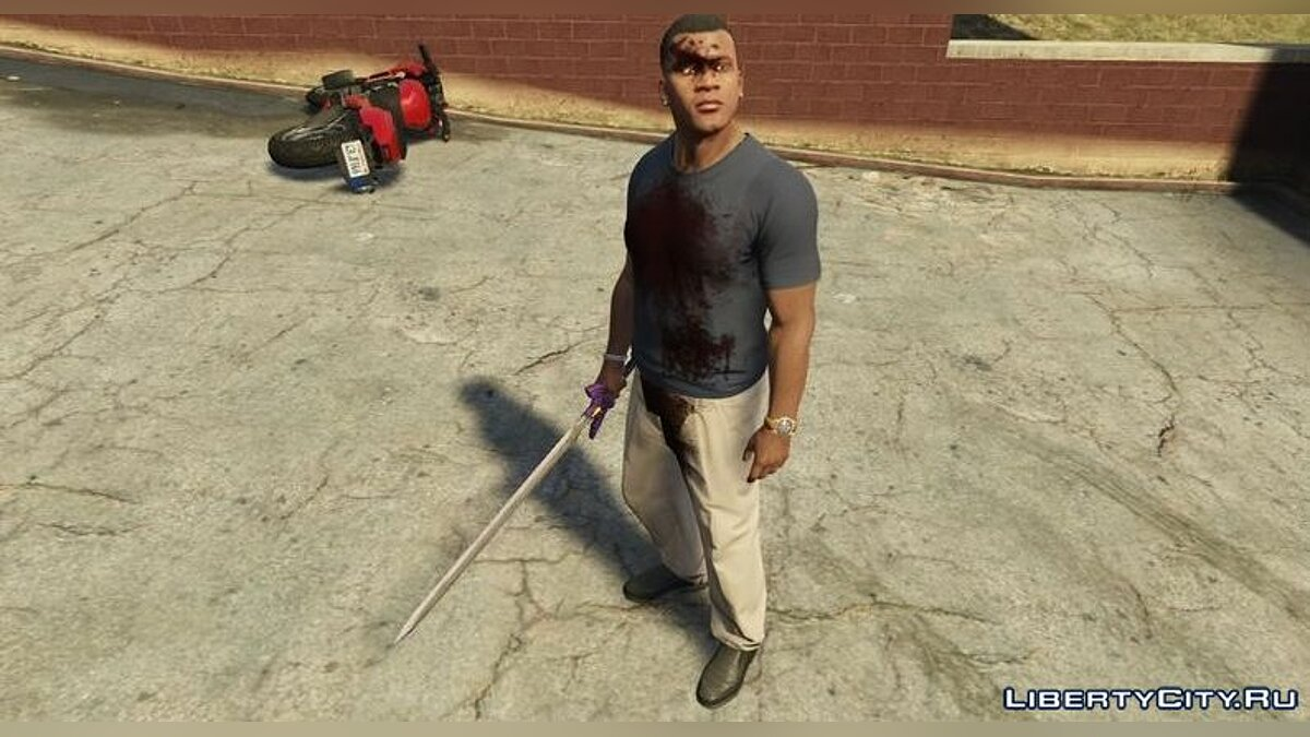 Weapon mod Master sword for GTA 5