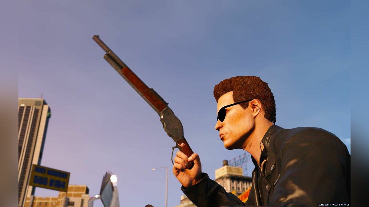 Weapon mod Winchester T-2 for GTA 5