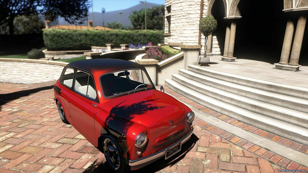 ZAZ car ZAZ-965 by AKROM Add-ON 1.0 for GTA 5