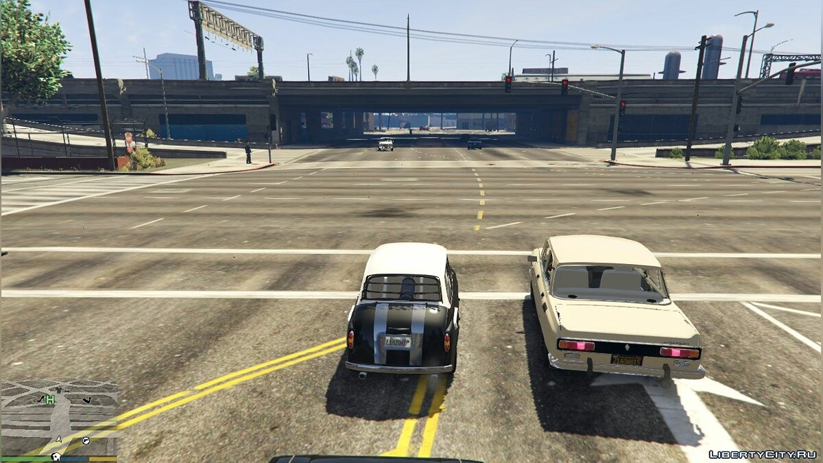 ZAZ car ZAZ-965 + TUNING (AKROM) 1.0 for GTA 5
