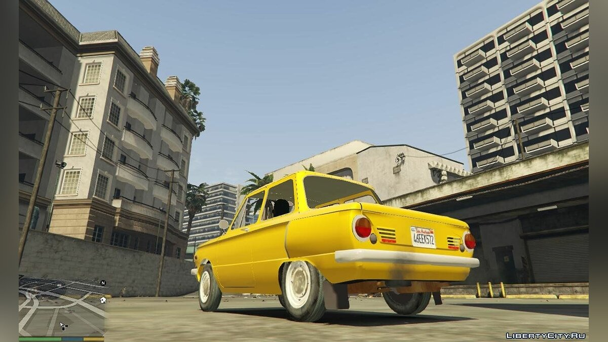 ZAZ car ZAZ-968A for GTA 5