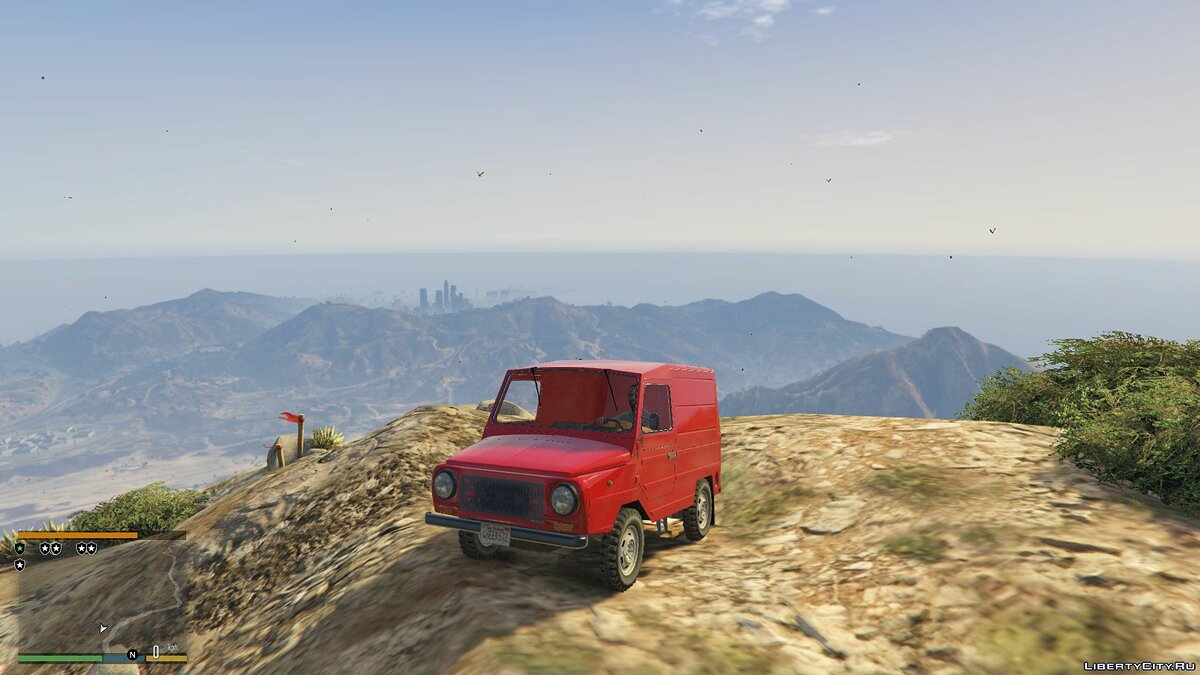 ZAZ car LUAZ [Add-On] 1.0 for GTA 5