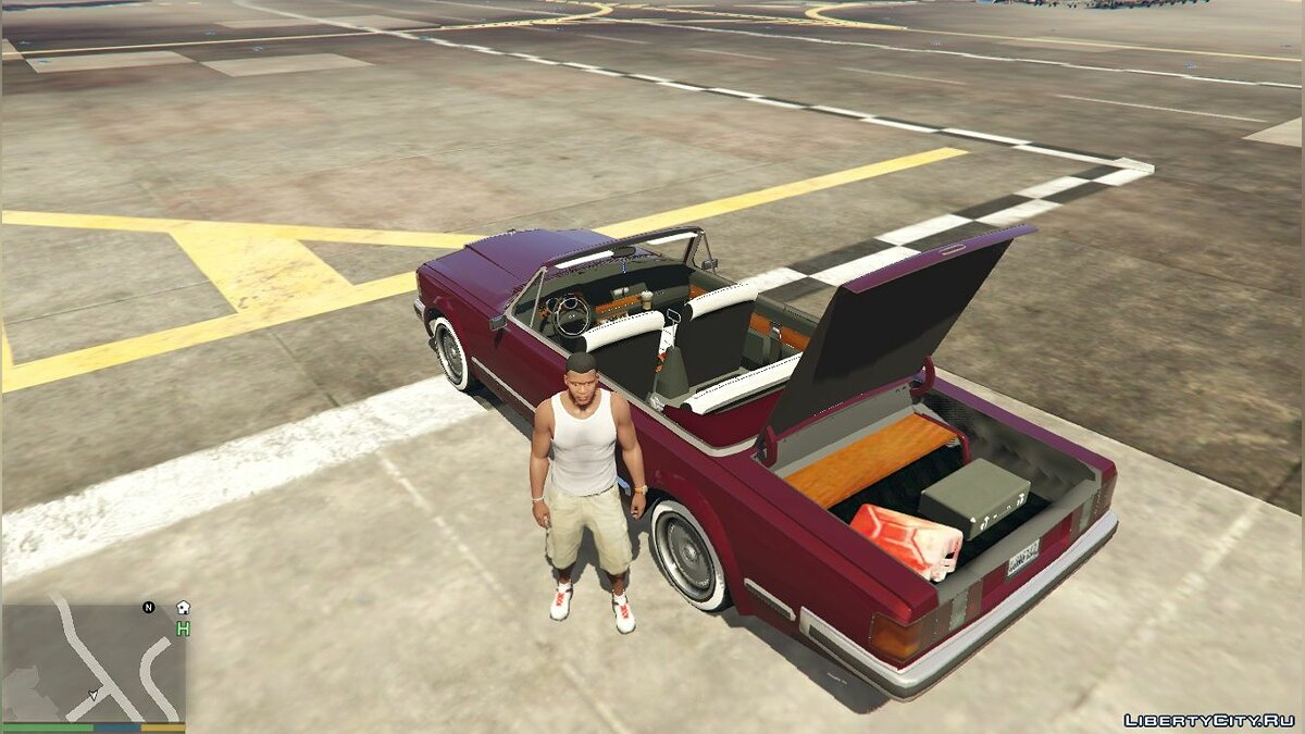 ZIL car ZIL-41044-Cabriolet [Replace] 1.0 for GTA 5