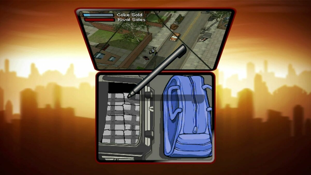 Gameplay video Video Feature Clip # 3: Dealing & Delivering for GTA Chinatown Wars