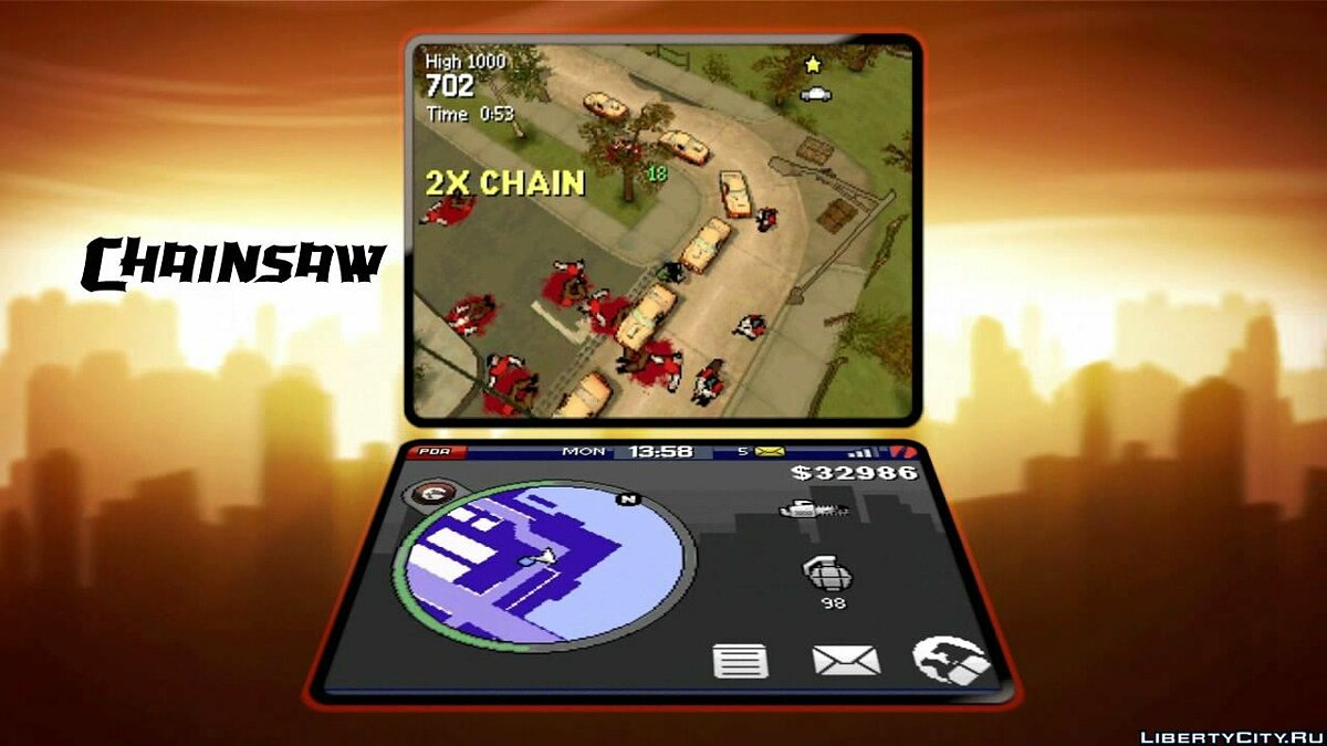 Gameplay video Video Feature Clip # 4: Rampage! for GTA Chinatown Wars