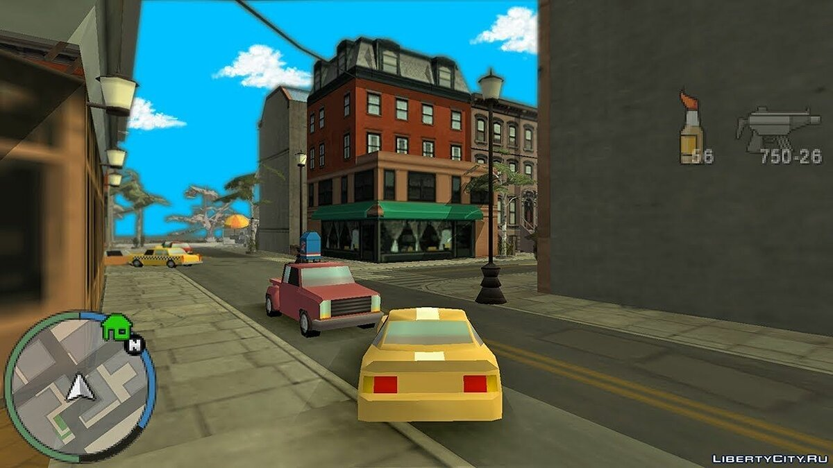 Editor 3rd person view in GTA PSP version: CTW for GTA Chinatown Wars