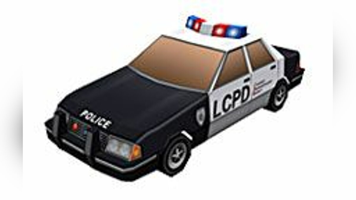 Police car for GTA Chinatown Wars