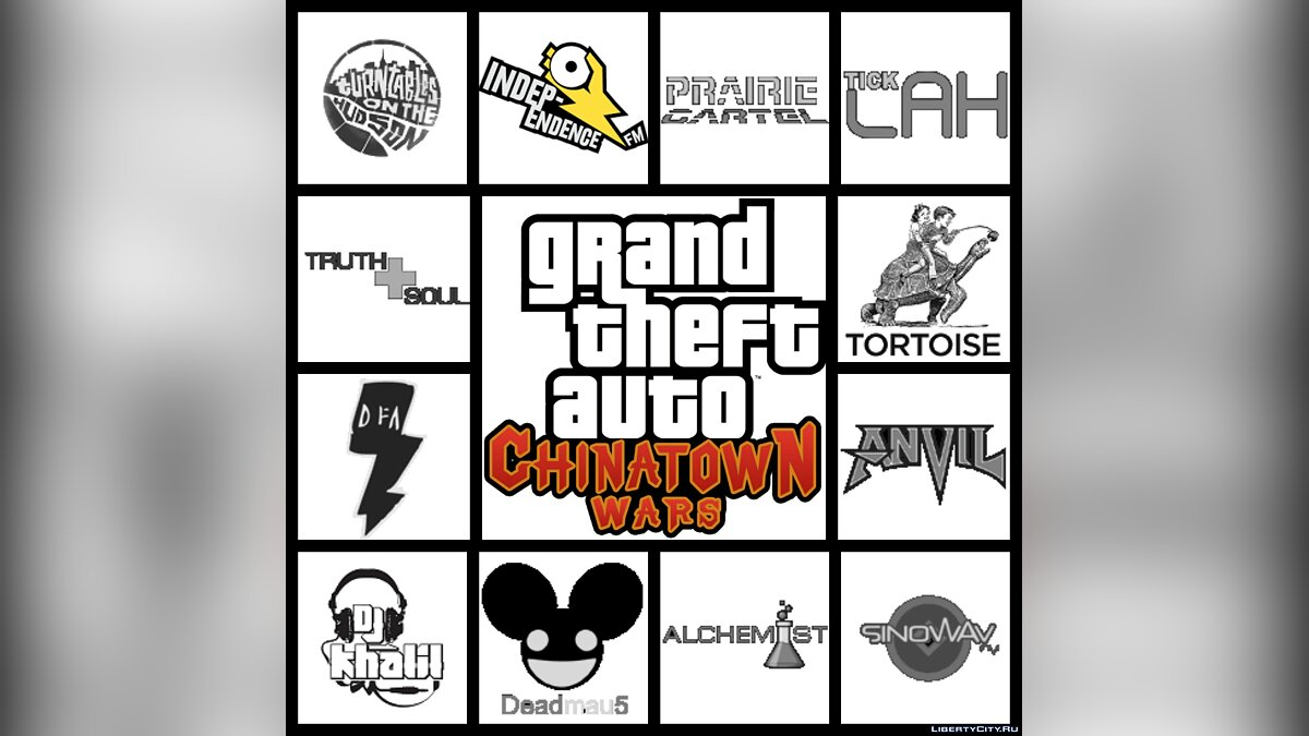 Ringtone Grand Theft Auto: Chinatown Wars (Unofficial Full Soundtrack) for GTA Chinatown Wars
