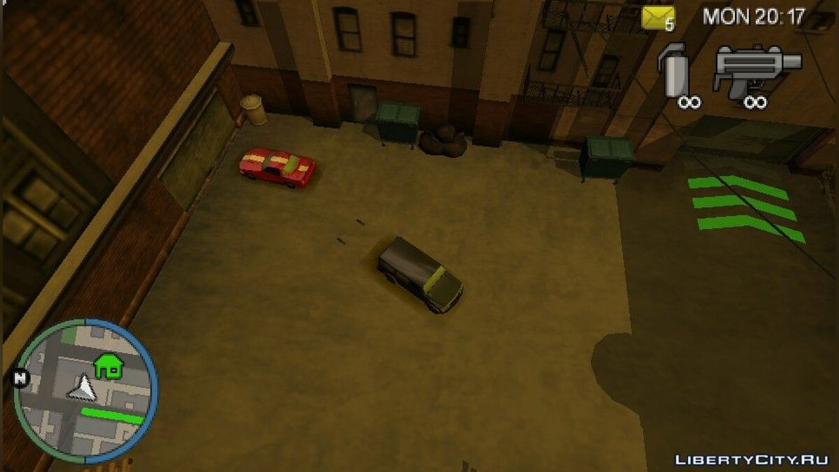 GTA CTW Unique Vehicles (PSP) for GTA Chinatown Wars - screenshot #3