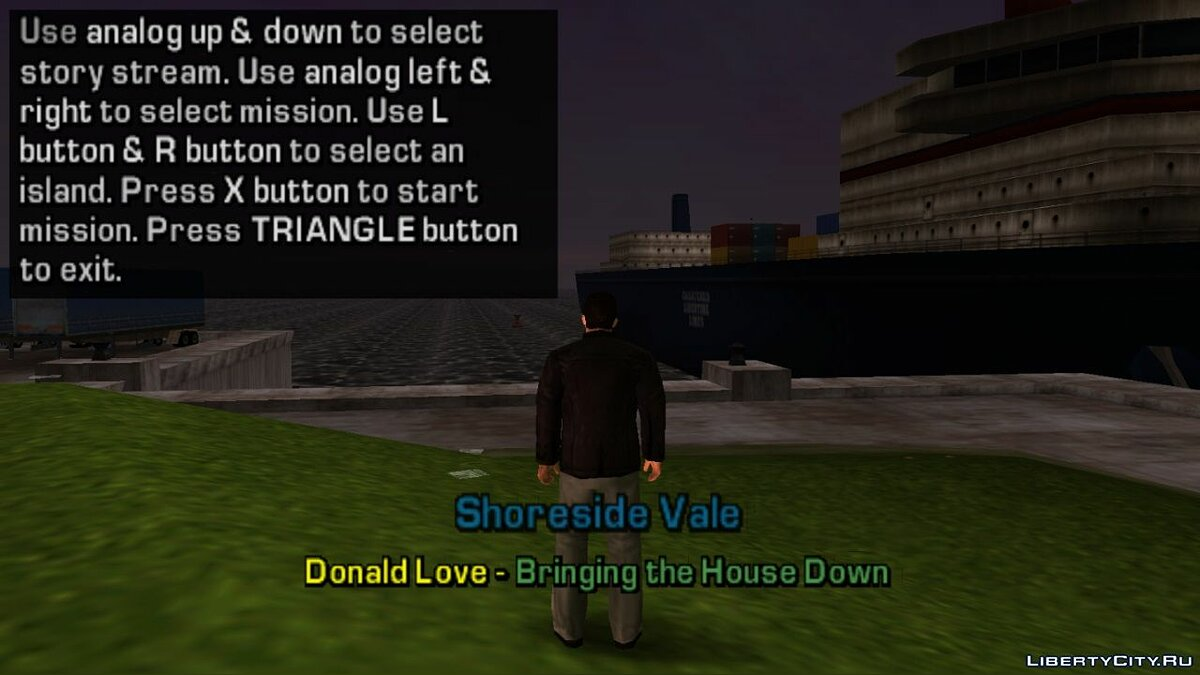 Debug menu by Dageron for GTA Liberty City Stories - screenshot #7
