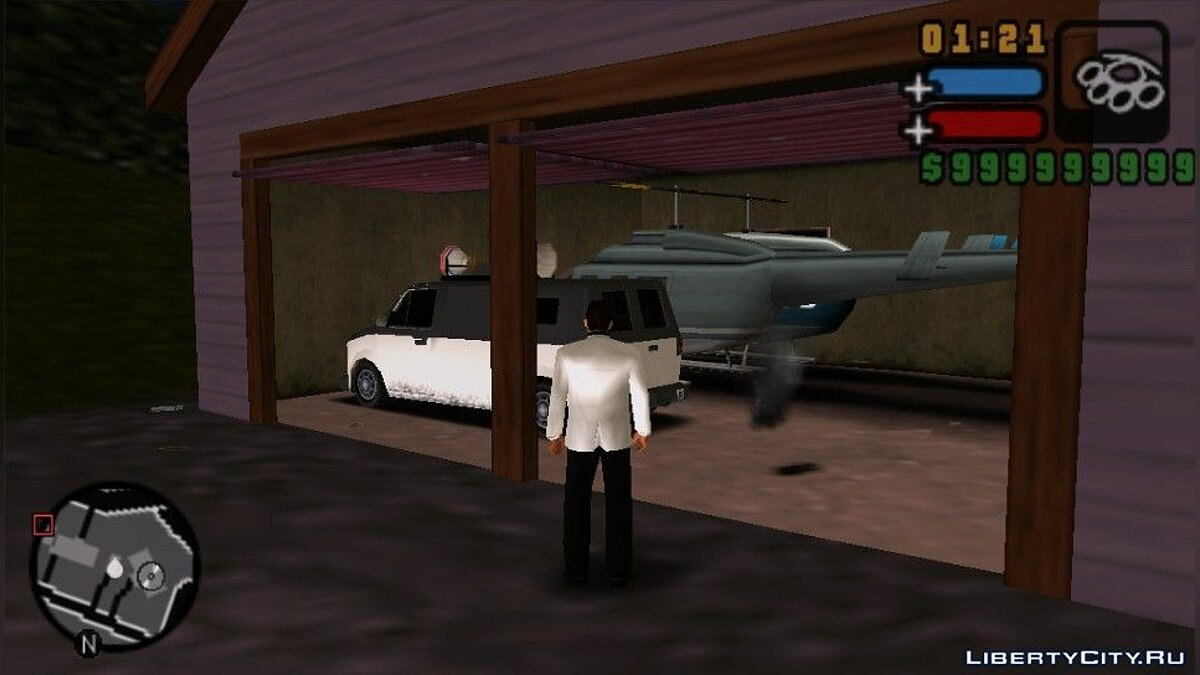 Save GTA LCS Unique Vehicles (PSP) for GTA Liberty City Stories