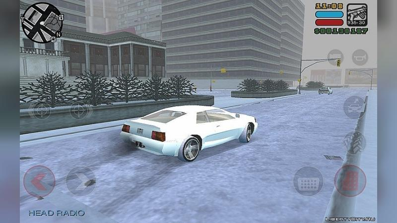 Mod Winter Mod for GTA LCS Mobile for for modmakers