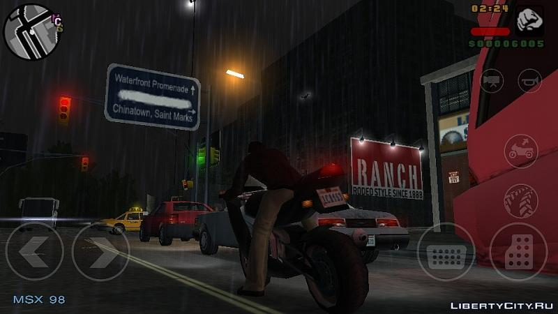 Mod Original PSP Textures for GTA LCS Mobile Android for for modmakers