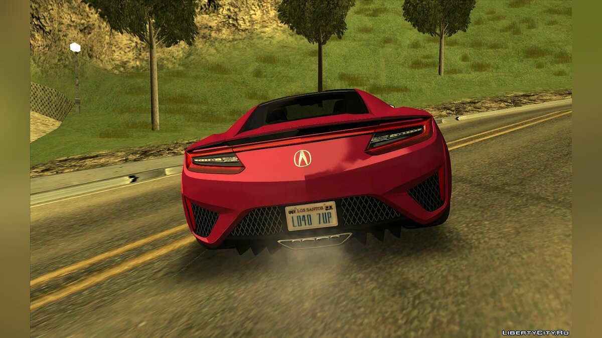 Acura car Acura NSX for GTA San Andreas