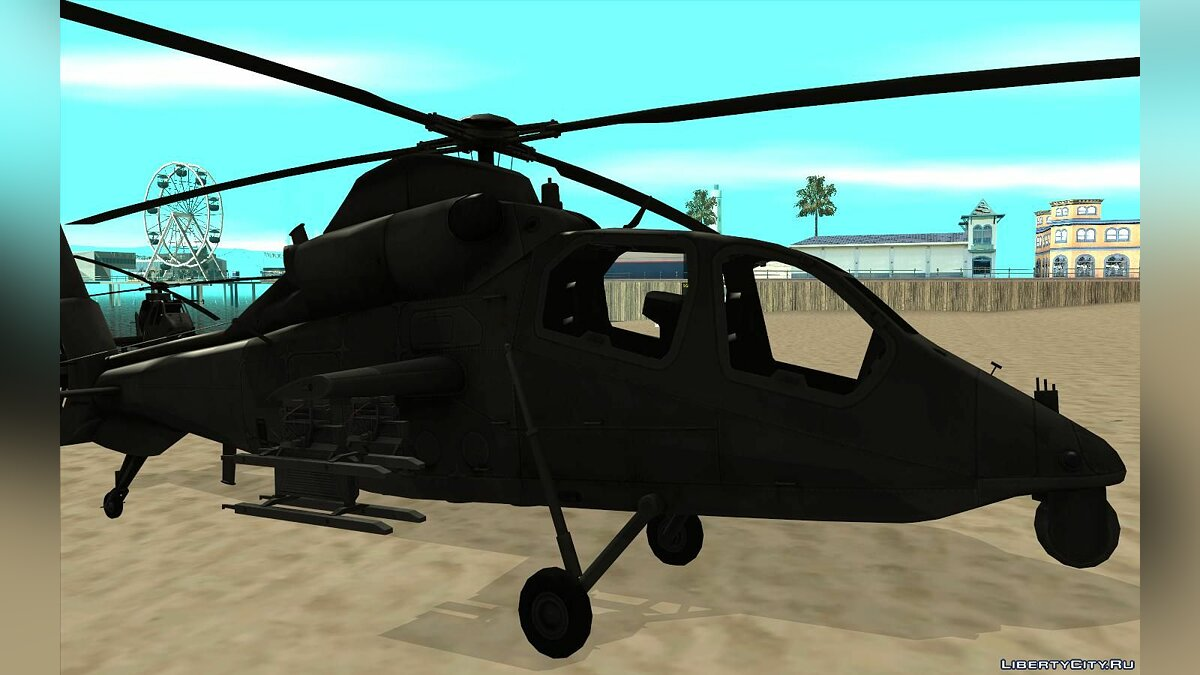 Planes and helicopters Harbin wz-19 for GTA San Andreas