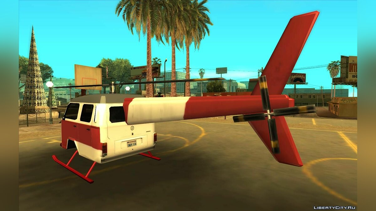 Planes and helicopters Combicopter for GTA San Andreas