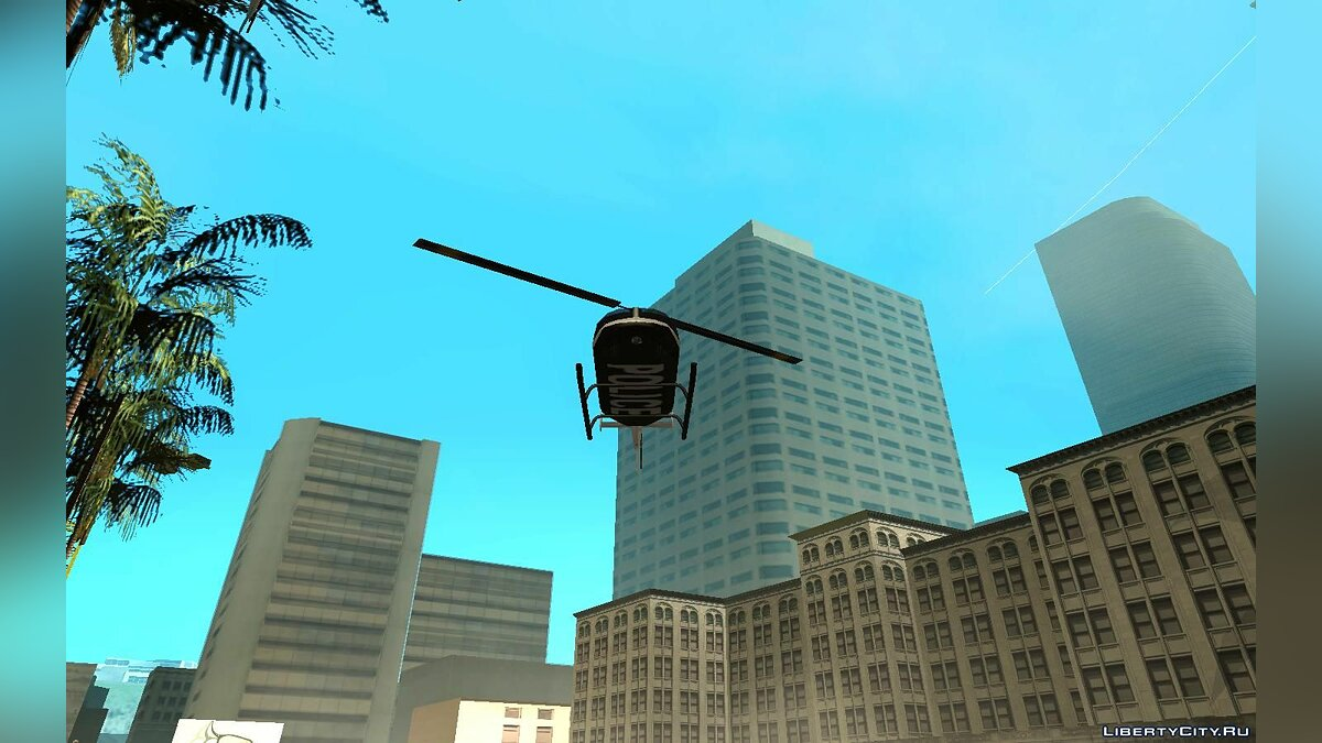 Planes and helicopters Inverted PolMav for GTA San Andreas