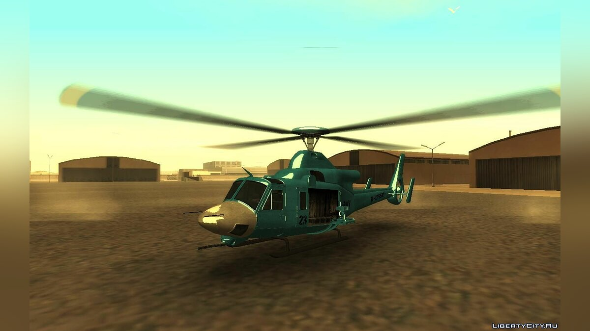 Planes and helicopters Valkyrie from GTA 5 for GTA San Andreas