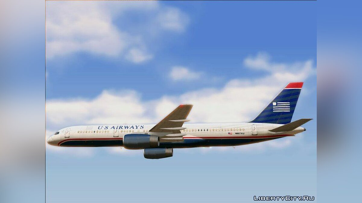 Planes and helicopters Boeing 757-200 RR RB211 for GTA San Andreas