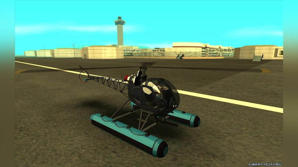 Planes and helicopters GTA 5 Sparrow & Sea Sparrow for GTA San Andreas
