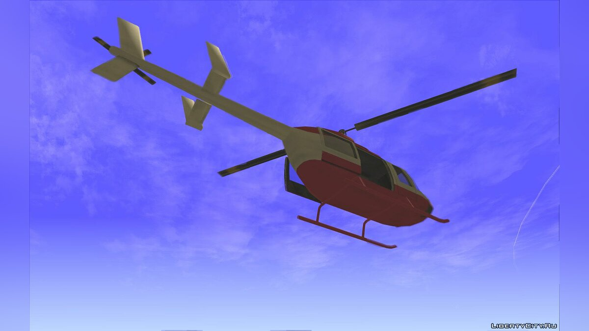 Planes and helicopters Maverick enterable slider doors for GTA San Andreas