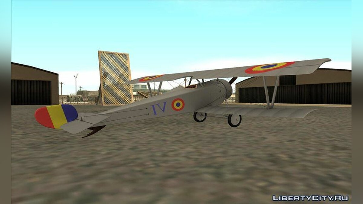 Planes and helicopters Nieuport 17 - VI (Romania) for GTA San Andreas