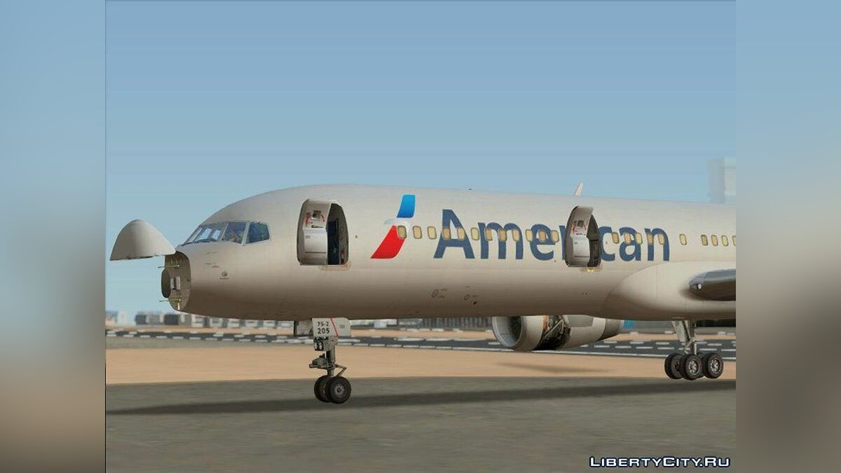 Planes and helicopters Boeing 757-200 RB211 for GTA San Andreas