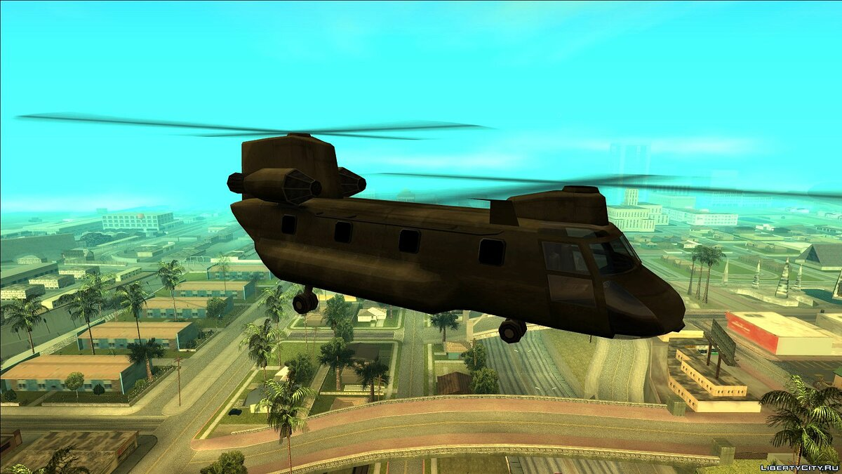 Planes and helicopters Cargobob - Beta for GTA San Andreas