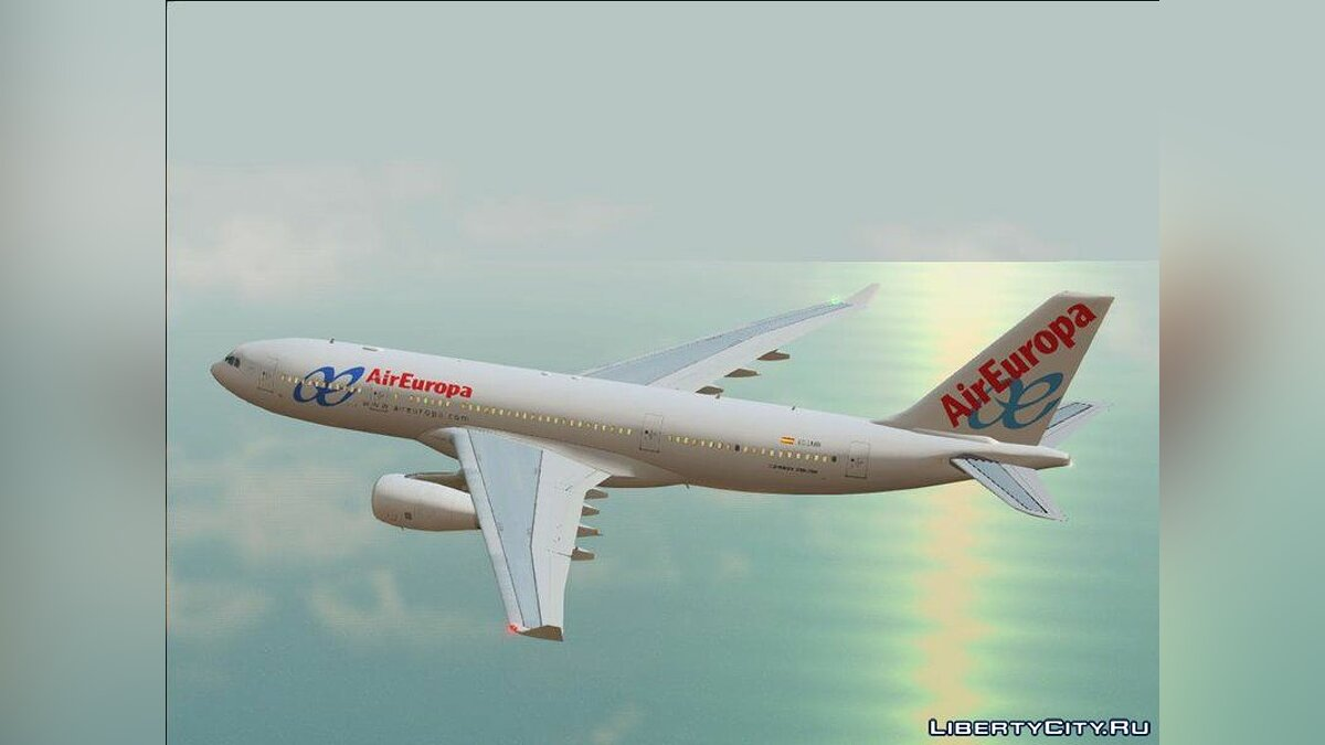 Planes and helicopters Airbus A330-200 RR Trent 700 for GTA San Andreas