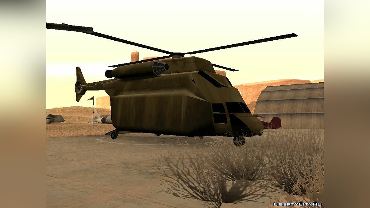 Planes and helicopters Enlarged Cargobob for GTA San Andreas