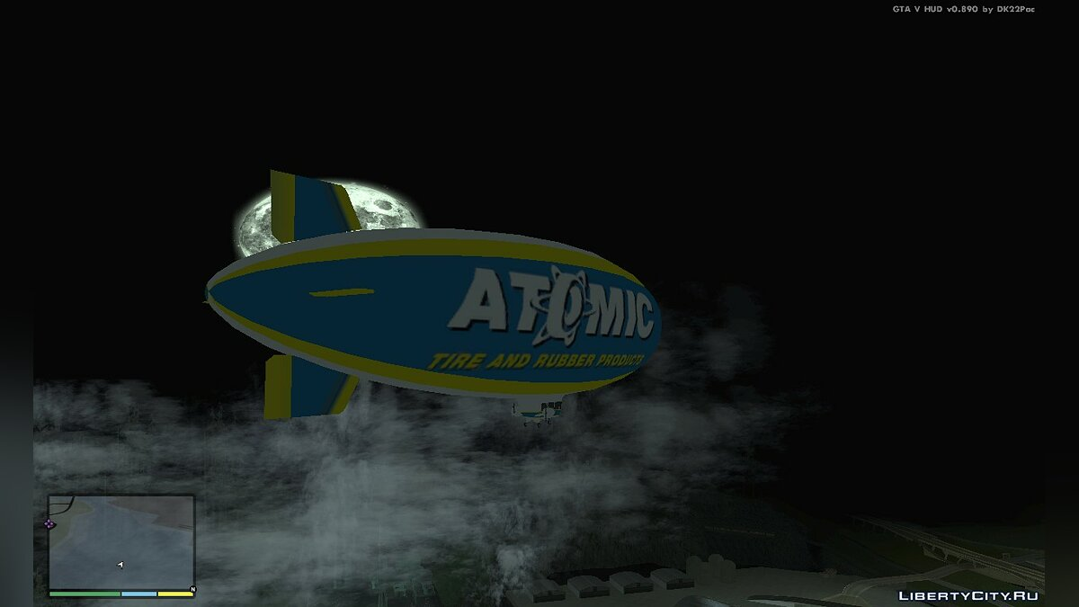 Planes and helicopters Airship from GTA 5 for GTA San Andreas