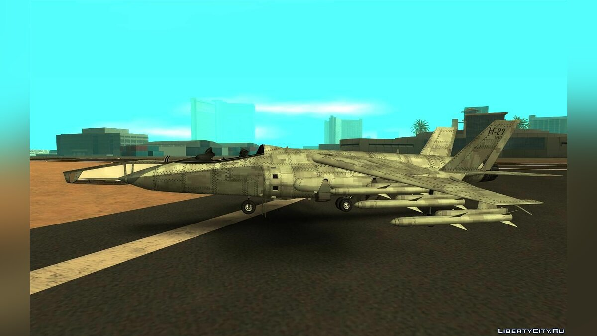 Planes and helicopters GTA 5 Mammoth Hydra for GTA San Andreas