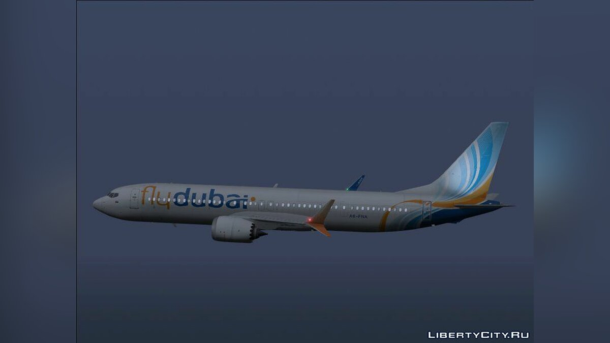 Planes and helicopters Boeing 737 MAX 9 for GTA San Andreas