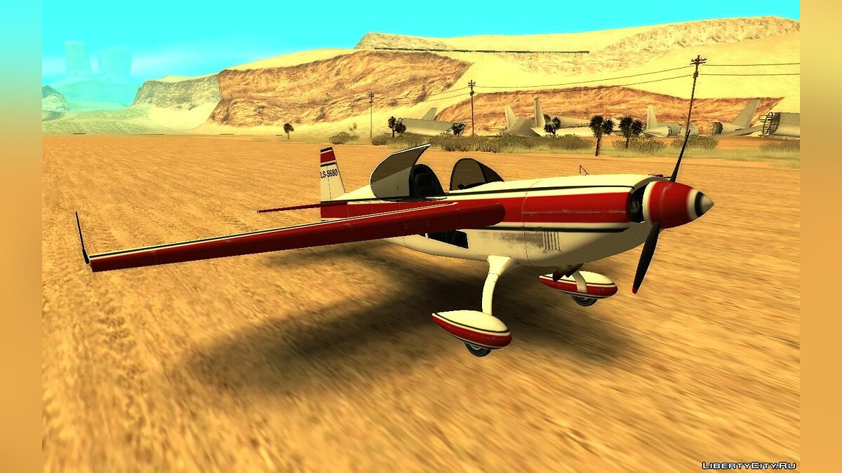 Planes and helicopters GTA 5 Western Mallard for GTA San Andreas