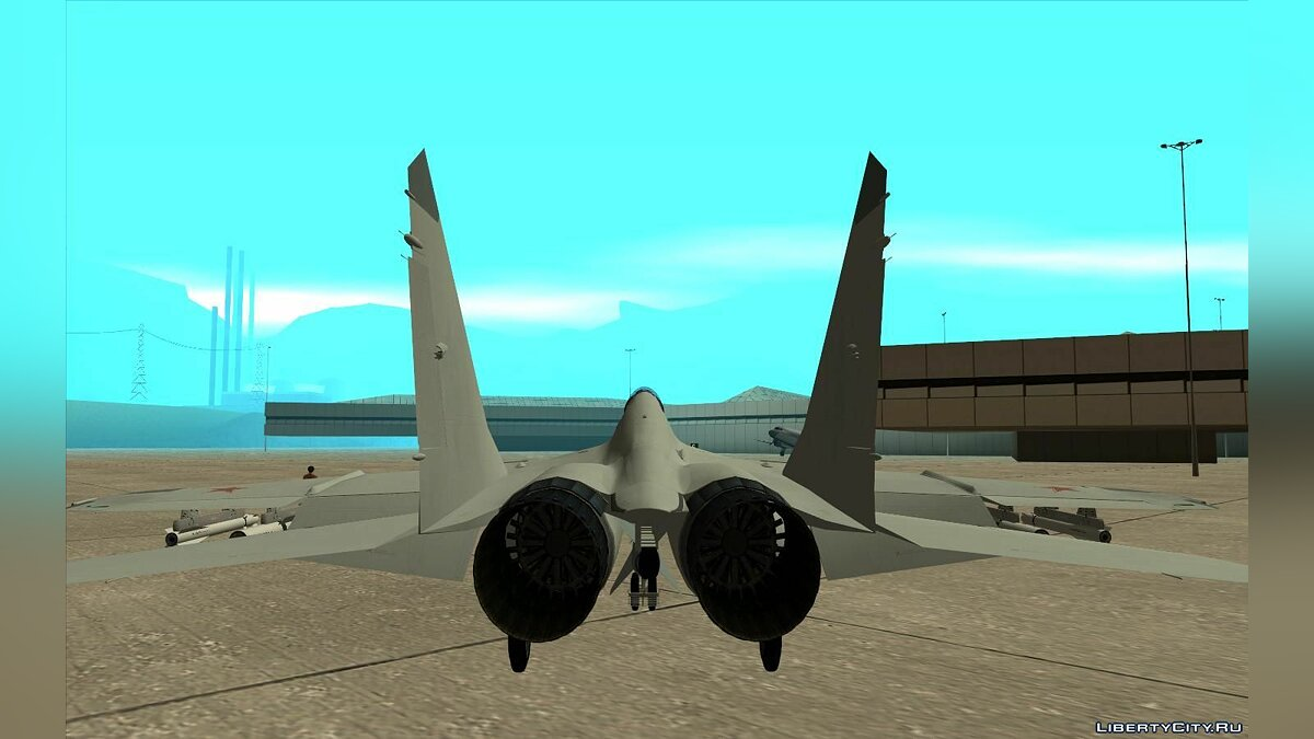 Planes and helicopters Mikoyan MiG-29K for GTA San Andreas