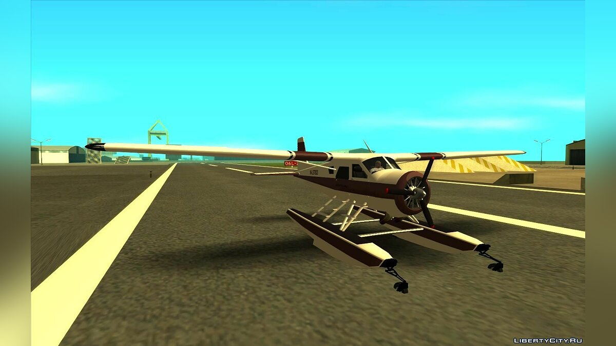 Planes and helicopters GTA 5 Mammoth Dodo for GTA San Andreas