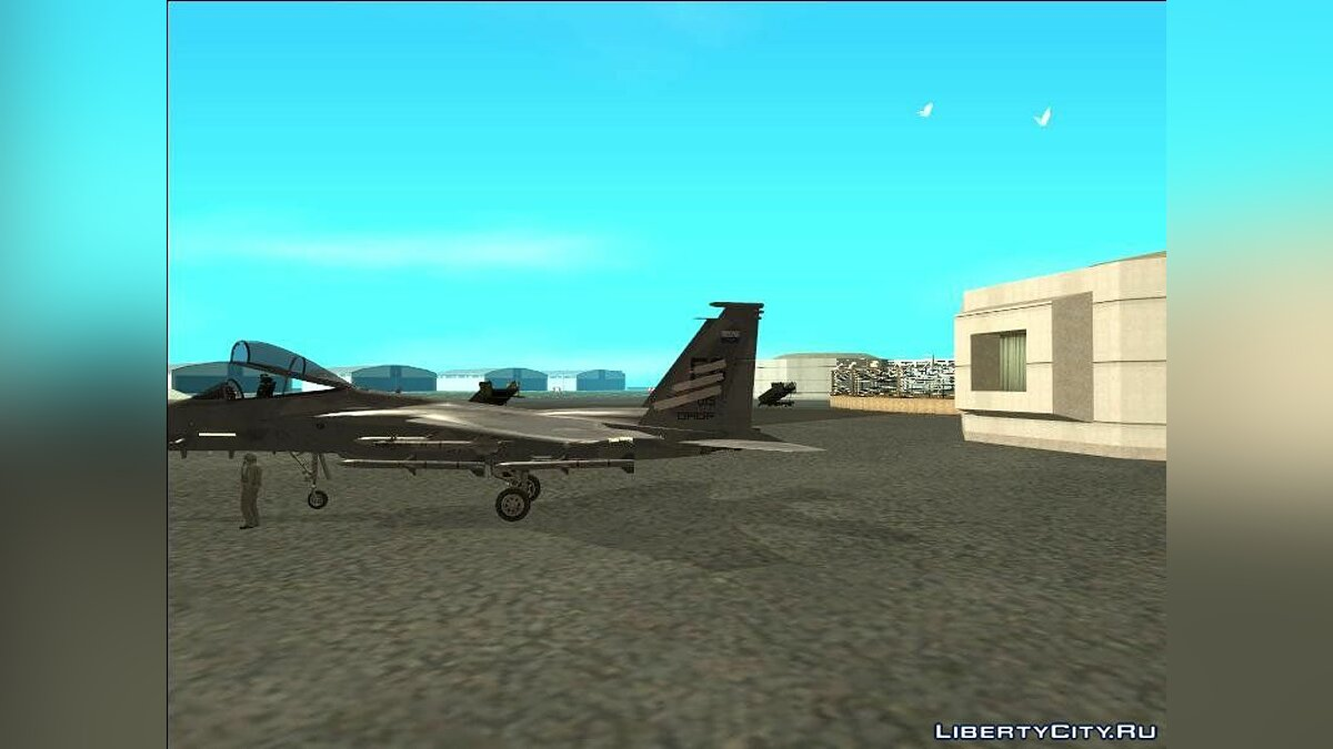 Planes and helicopters F-15C Trigger (Spare 15) for GTA San Andreas