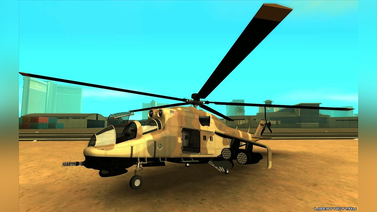 Planes and helicopters GTA 5 Savage for GTA San Andreas