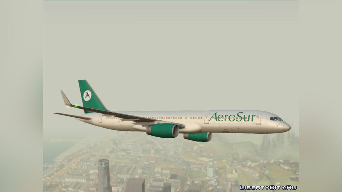 Planes and helicopters Boeing 757-200 RB211 * Updated * for GTA San Andreas