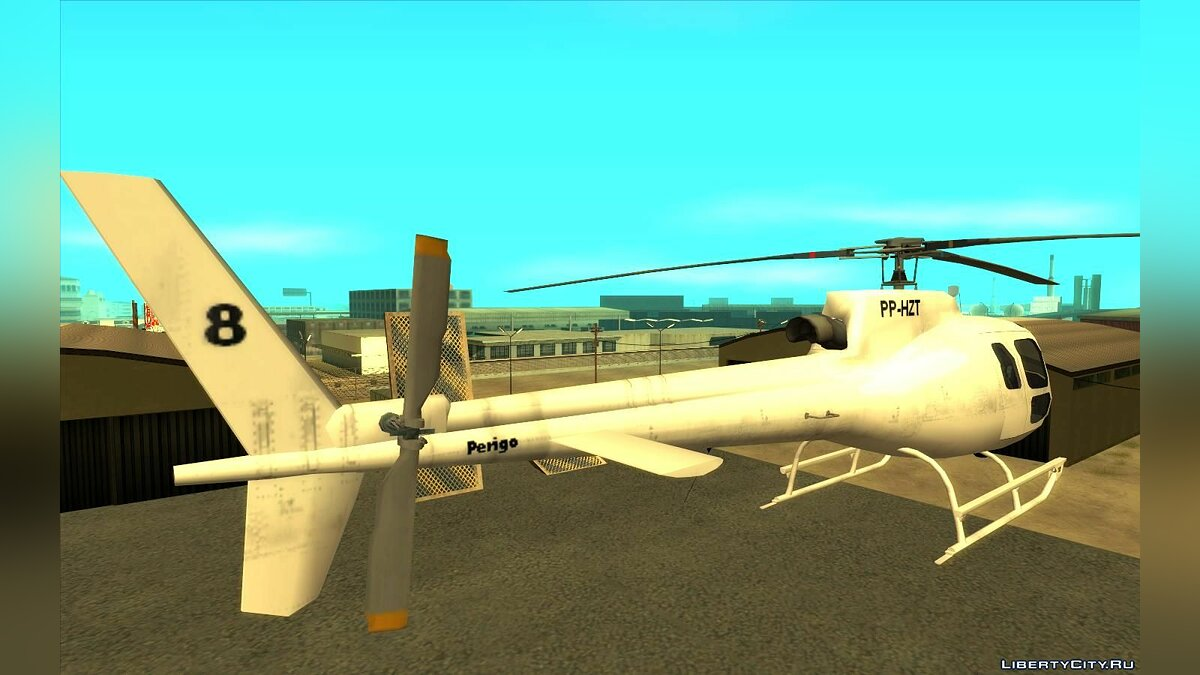 Planes and helicopters Esquilo H350 BA for GTA San Andreas