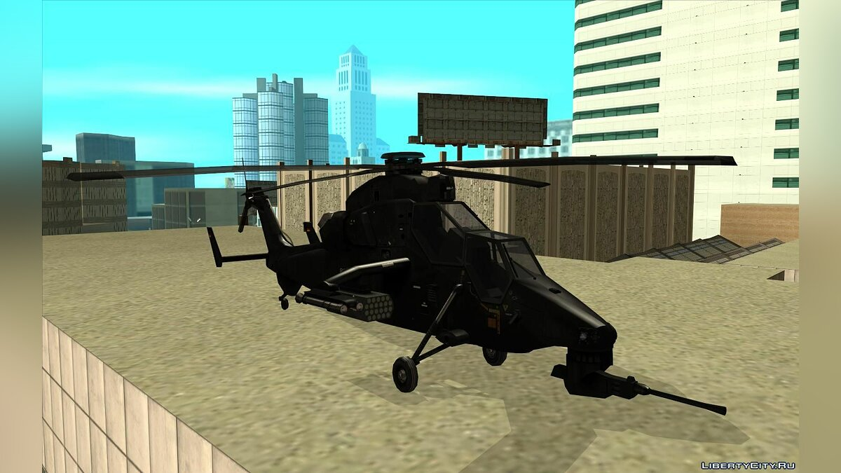 Planes and helicopters Eurocopter tiger for GTA San Andreas