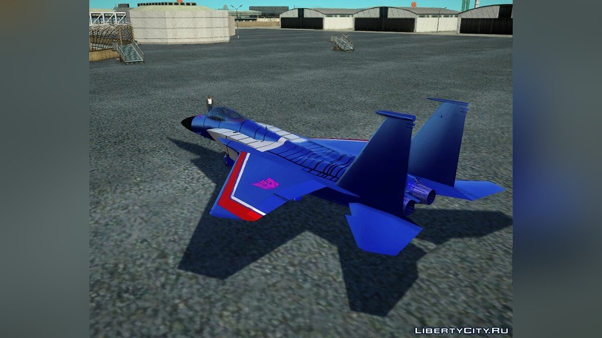 Planes and helicopters Transformers G1 Thundercracker Jet for GTA San Andreas