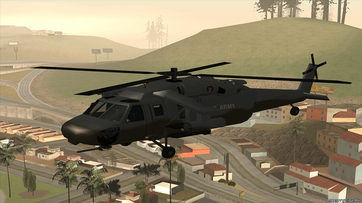 Planes and helicopters Annihilator for GTA San Andreas