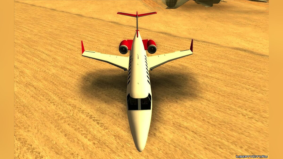 Planes and helicopters GTA 5 Buckingham Shamal for GTA San Andreas